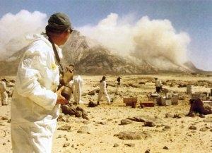 IL Y A 50 ANS AU SAHARA: L'ESSAI NUCLEAIRE RATE DU 1er MAI 1962 dans REFLEXIONS PERSONNELLES bombe-beryl-1mai62-algerie
