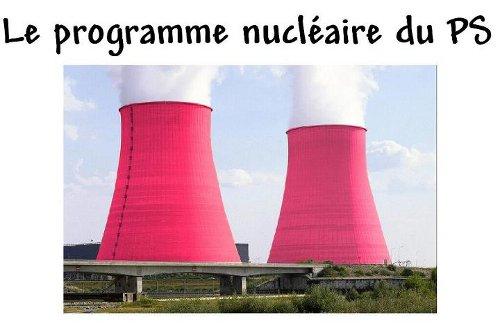 LE PROGRAMME NUCLEAIRE DU PS: SCOOP ! dans REFLEXIONS PERSONNELLES PS-PROGRAMME
