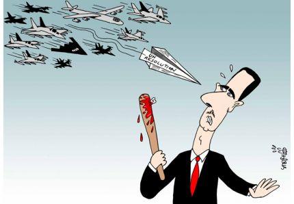 PRESSIONS SUR LA RUSSIE: LES ETATS-UNIS SE FRAYENT UN CHEMIN VERS LA VICTOIRE EN SYRIE À COUPS DE MEURTRES EN MASSE (Land Destroyer Report) dans REFLEXIONS PERSONNELLES SYRIE