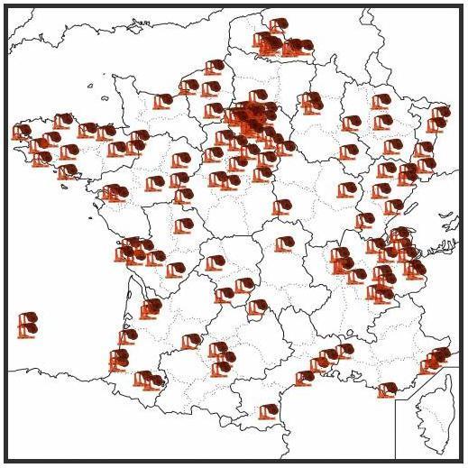 carte_des_incinerateurs_en_France ENVIRONNEMENT dans REFLEXIONS PERSONNELLES