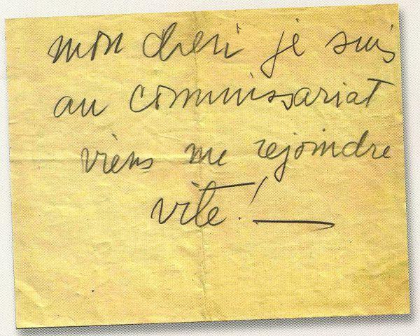 Billet-GeorgesGheldman16juillet1942-