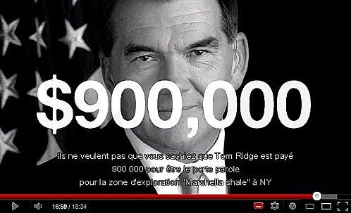 LES INDUSTRIELS DU GAZ DE SCHISTE ET DU PETROLE SAVENT...DEPUIS QUARANTE ANS !...(Paul KEIRN) dans REFLEXIONS PERSONNELLES 900000-dollars-tom-ridge