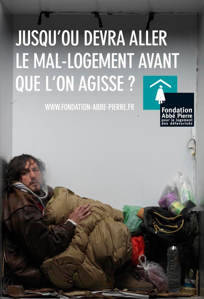 FONDATION ABBE PIERRE. LOGEMENT: LE GOUVERNEMENT NOUS ECOUTE, MAIS LES CHOSES N'AVANCENT PAS (Linda MAZIZ / bastamag.net) dans REFLEXIONS PERSONNELLES fondation