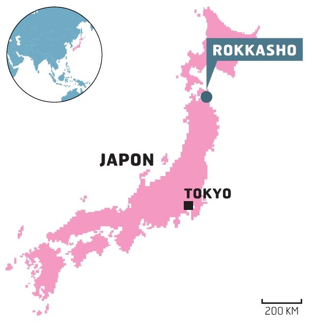 JAPON: RISQUE DE FAILLE ACTIVE SOUS LA SEULE USINE DE