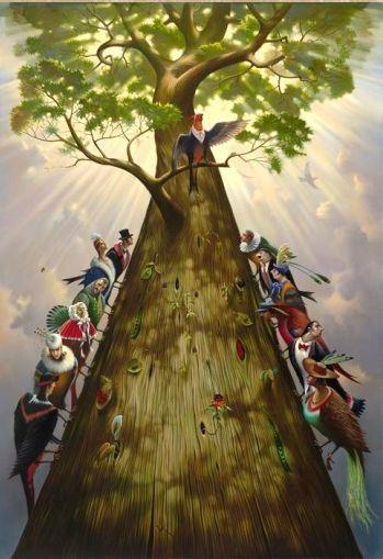 REGARDER LES HUMAINS COMME ON REGARDE LES ARBRES (Gaëtan PELLETIER) dans REFLEXIONS PERSONNELLES arbre