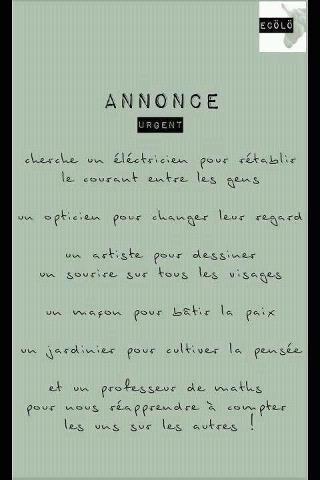 ANNONCE URGENTE...RECHERCHE D'UN AUTEUR.(lesoufflecestmavie.unblog.fr) dans REFLEXIONS PERSONNELLES espoir