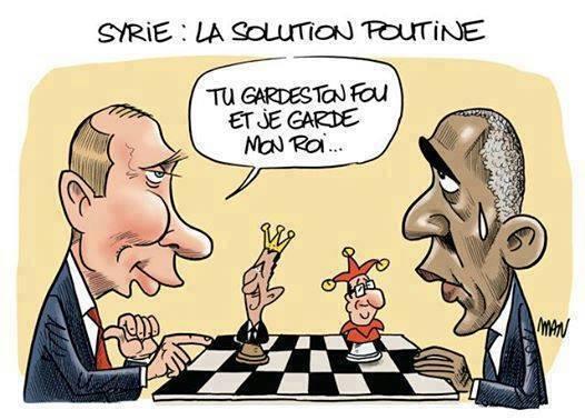 SYRIE: LA SOLUTION POUTINE... dans REFLEXIONS PERSONNELLES le-fou-et-le-roi-syrie