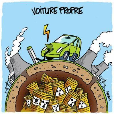 LA VOITURE ELECTRIQUE EST UN LEURRE (Thierry LAMIREAU / lesoufflecestmavie.unblog.fr) dans REFLEXIONS PERSONNELLES voiture-electrique-propre-