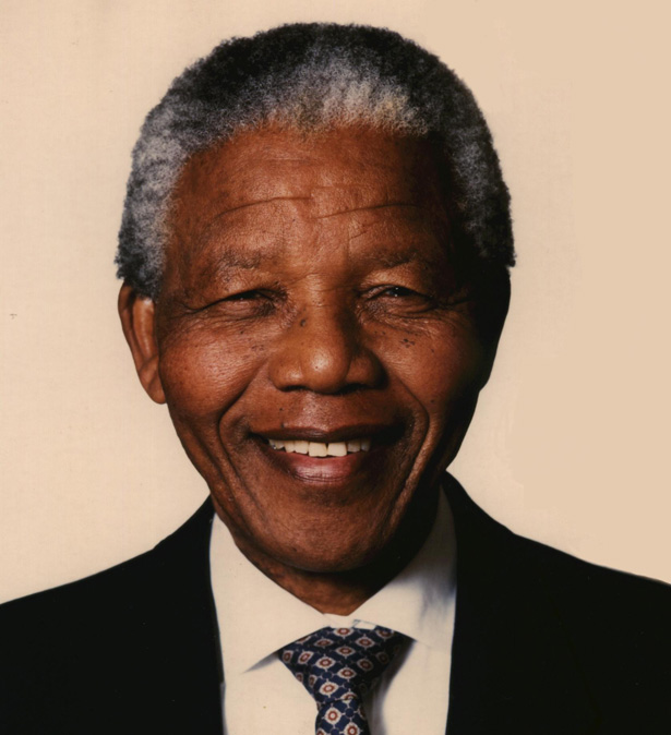 Nelson Mandela, photo, portrait