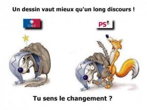 UMP et PS LE CHANGEMENT