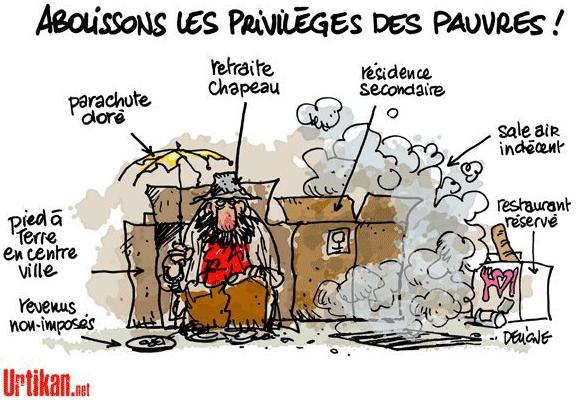 Abolissons les privilèges des pauvres
