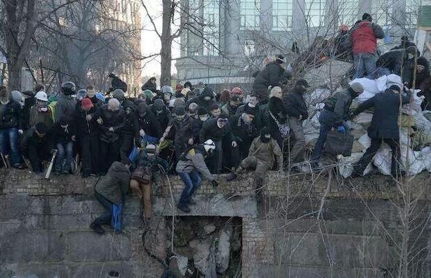 Les barricades dans KIEV