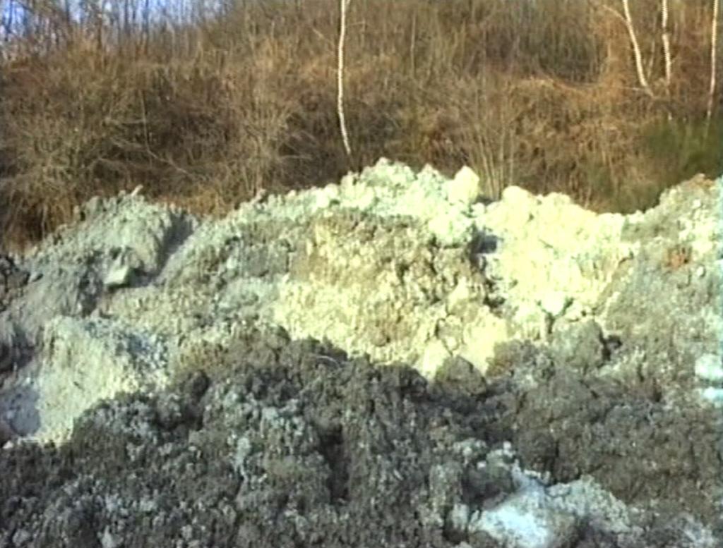 Boues radioactives clandestines pour l'habitat