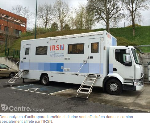 Camion d'analyse IRSN