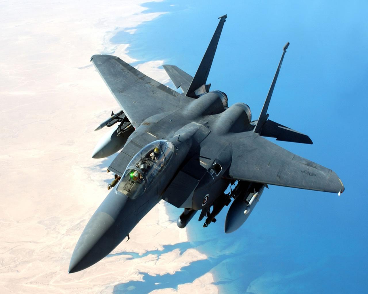 LES ETATS-UNIS ENVOIENT SIX F-15 POUR RENFORCER LA SURVEILLANCE DE L ...