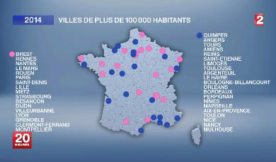 FRANCE des mairies