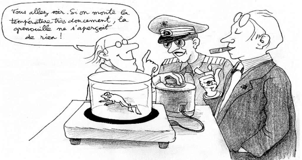 L'HOMME est une grenouille