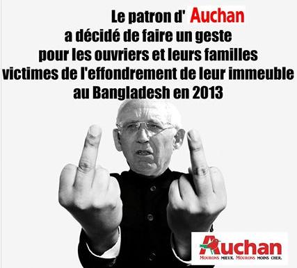 AUCHAN et le BANGLADESH