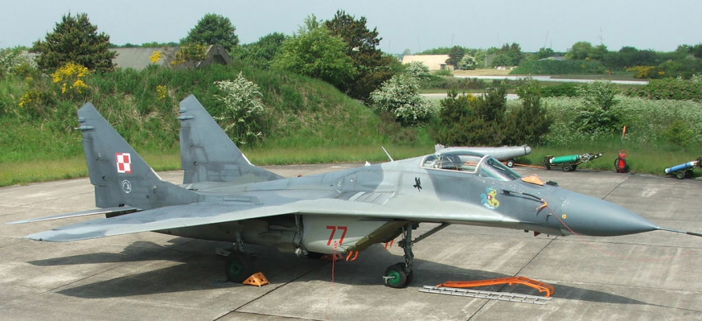 Avion MIG-29