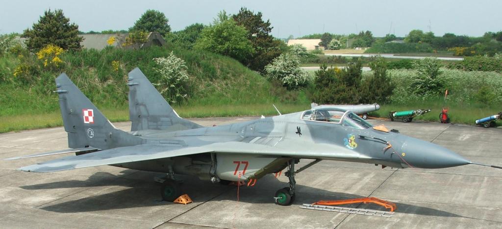 Avion MIG-29