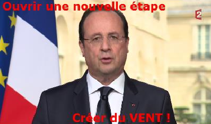 HOLLANDE Créer du VENT