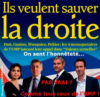 Les SAUVEURS de l'UMP