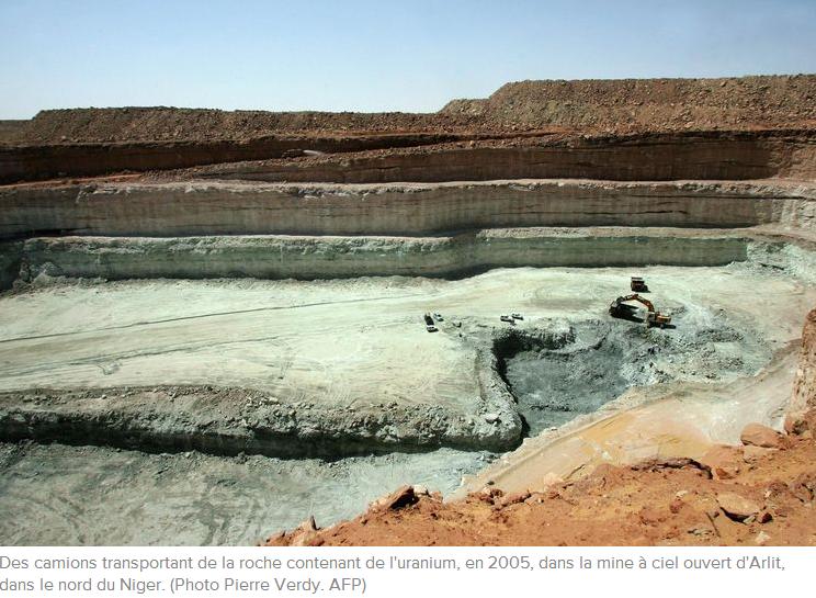 Mine d'uranium de ARLIT au NIGER photo de pierre VERDY AFP