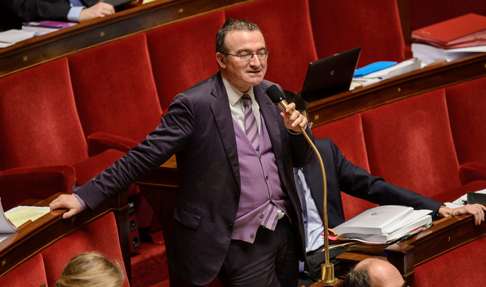 Photo de Hervé MARITON à l'Assemblée Nationale