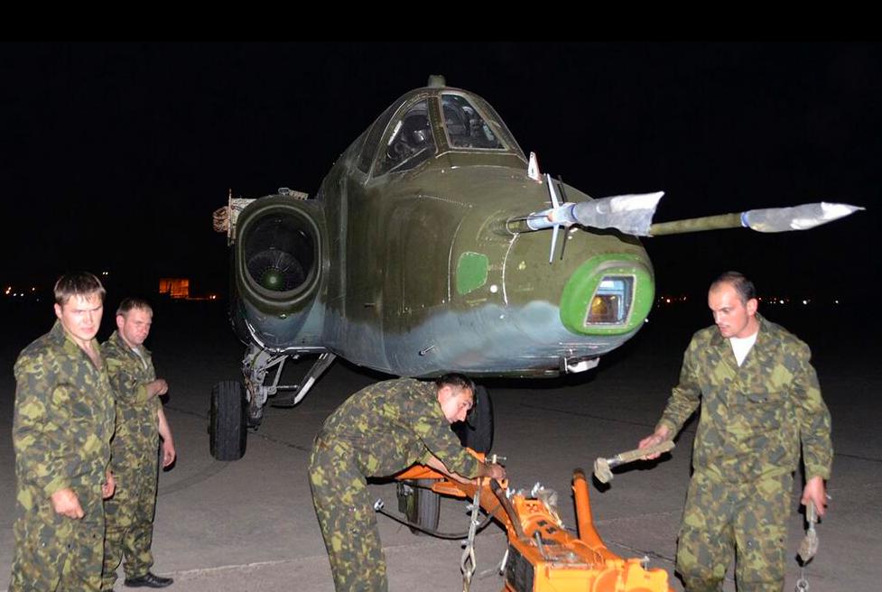 SU-25 RUSSE pour l'IRAK 1
