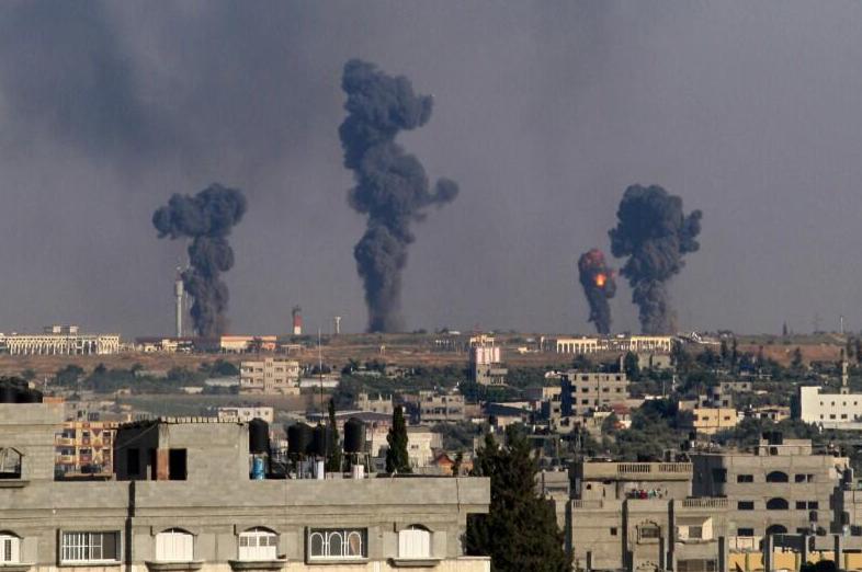 Attaques à l'URANIUM appauvri sur GAZA
