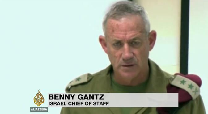 Chef du Staff israélien militaire BENNY GANTZ