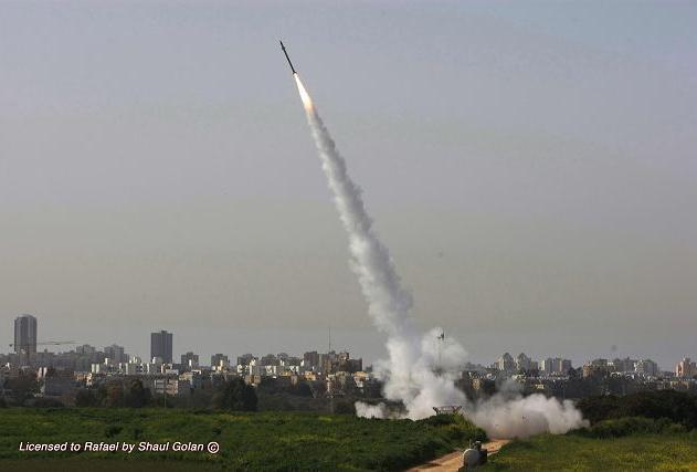 Départ missile TAMIR 2