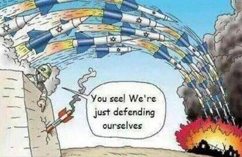 Dessin GAZA ISRAËL