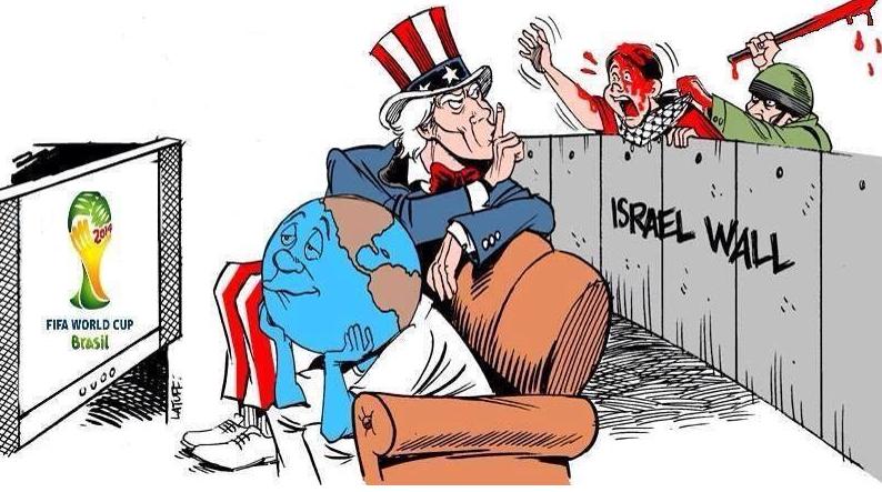 Dessin le mur d'Israël
