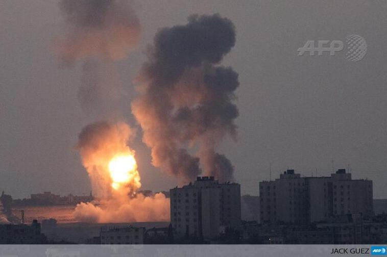 Explosion d'armes à l'URANIUM appauvri à GAZA