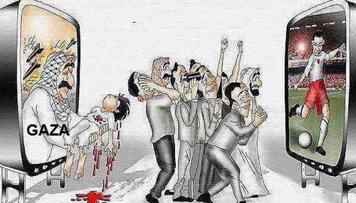 Foot Mondial et GAZA