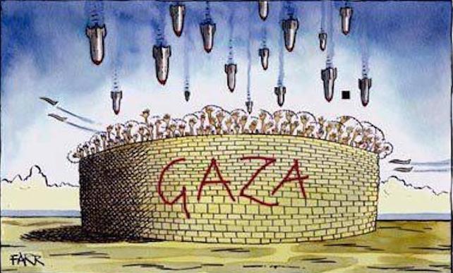 GAZA cernée