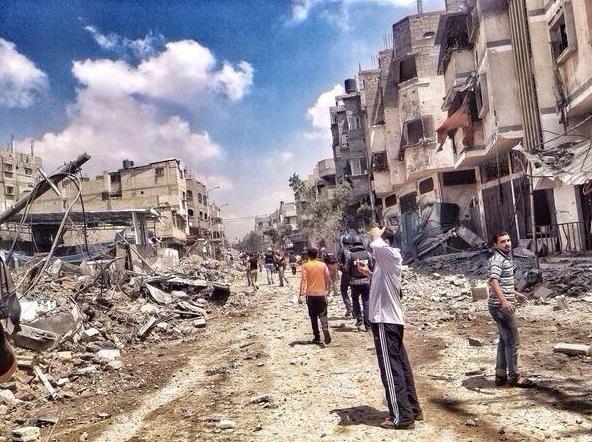 GAZA détruite 2