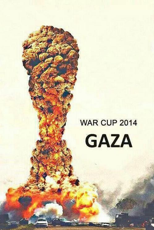 GAZA ISRAËL La coupe de la GUERRE
