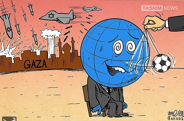 ISRAËL GAZA et la Coupe du Monde de football