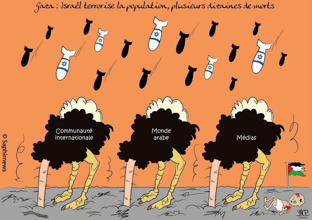 Israël sur GAZA Tout le monde se tait