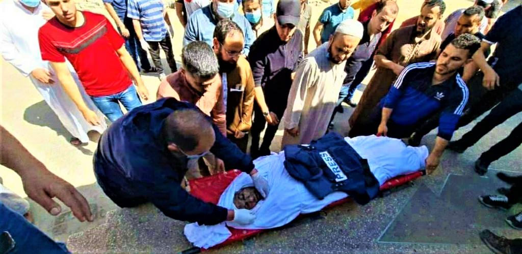 Journaliste tué à GAZA le 19 mai 2021 A