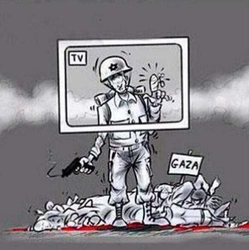 La télé GAZA et l'armée israëlienne