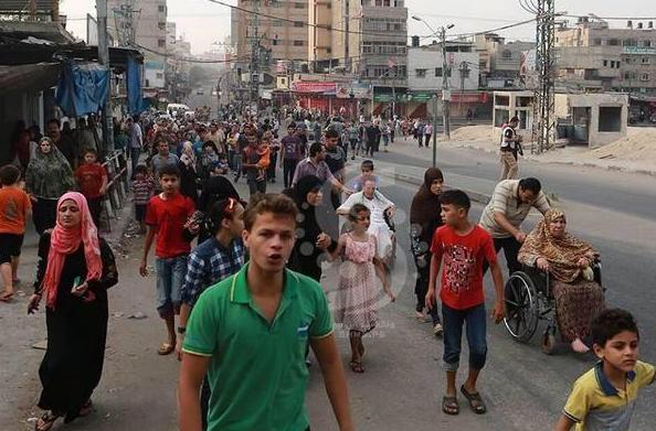 Les Gazaouis quittent leur lieu de vie mais pour aller où