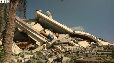 Maison détruite à GAZA