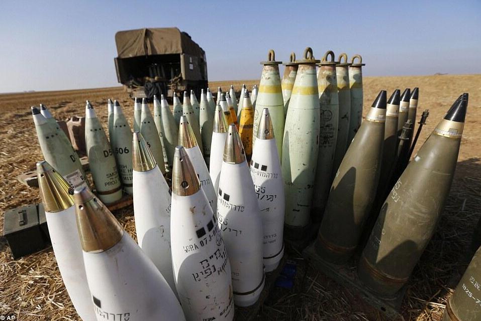 Munitions israéliennes 2