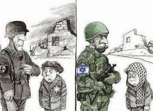 NAZI et militaire Israélien