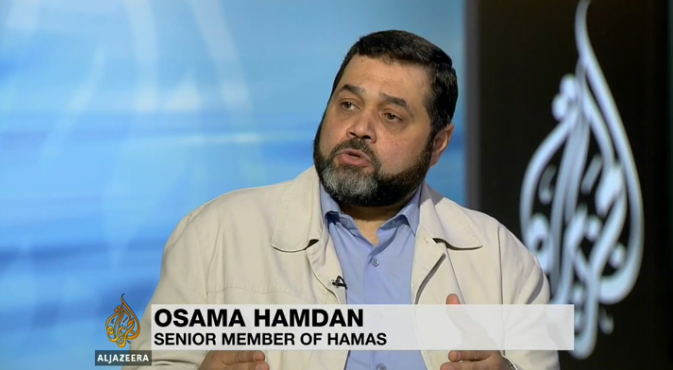 Osama HAMDAM Chef du HAMAS