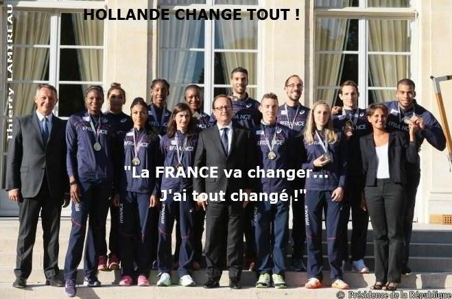 HOLLANDE change TOUT