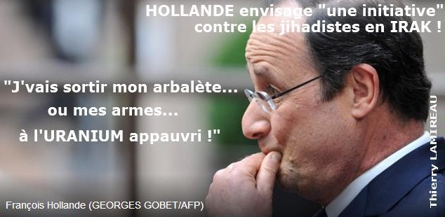 HOLLANDE guerrier